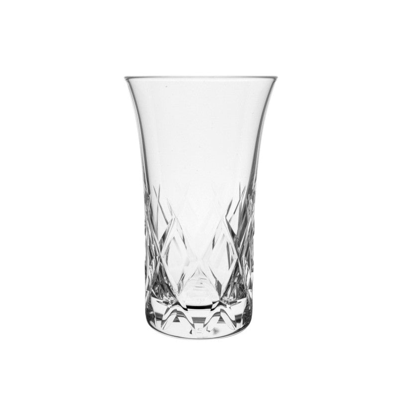 Hard Strong Yarai Etched Cocktail Glass