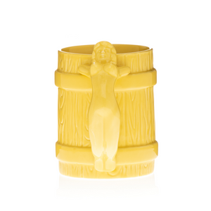 Yellow Betty Tiki Mug