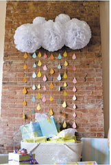"""Showers of Blessings"" Raindrop and Cloud Collection"