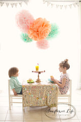 Tissue Paper Pom Poms- Popular Color Collections