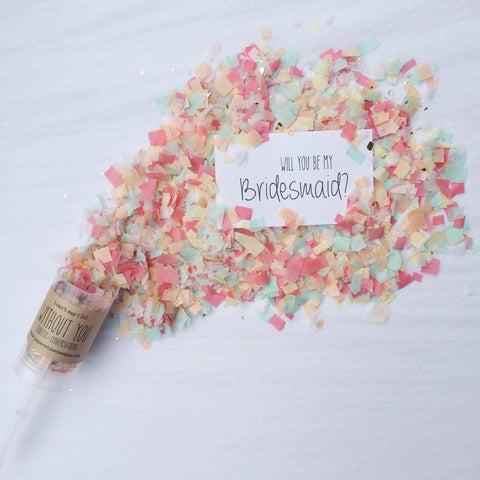 Will You Be My Bridesmaid? Confetti Conversations