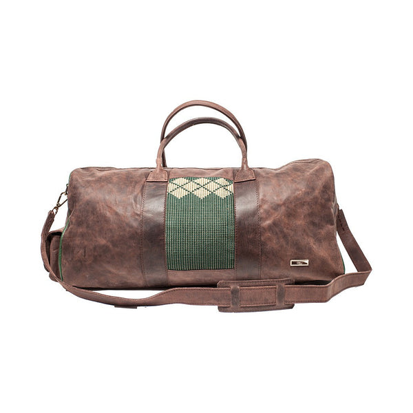 ZAAF Classic Leather Travel Weekender Bag