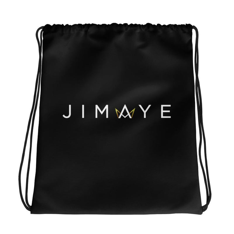 Black Drawstring Bag - Jimaye
