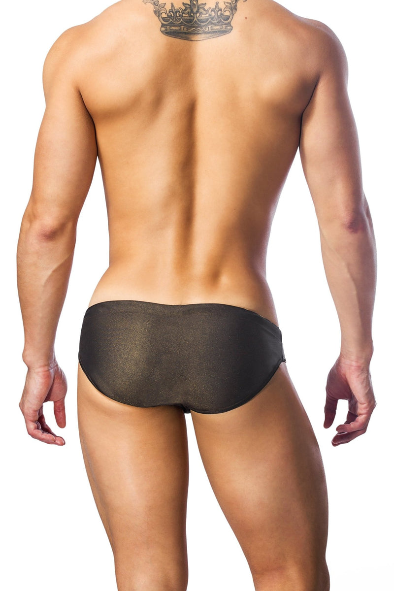 Gold mens swimwear / swim brief