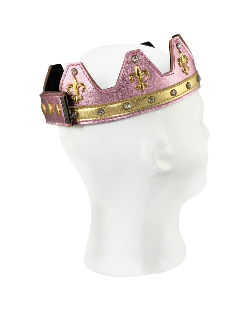 Pink Leather Crown - Jimaye