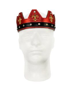 Red Leather Crown - Jimaye
