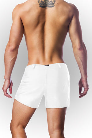 White Vers Swim Shorts - Jimaye