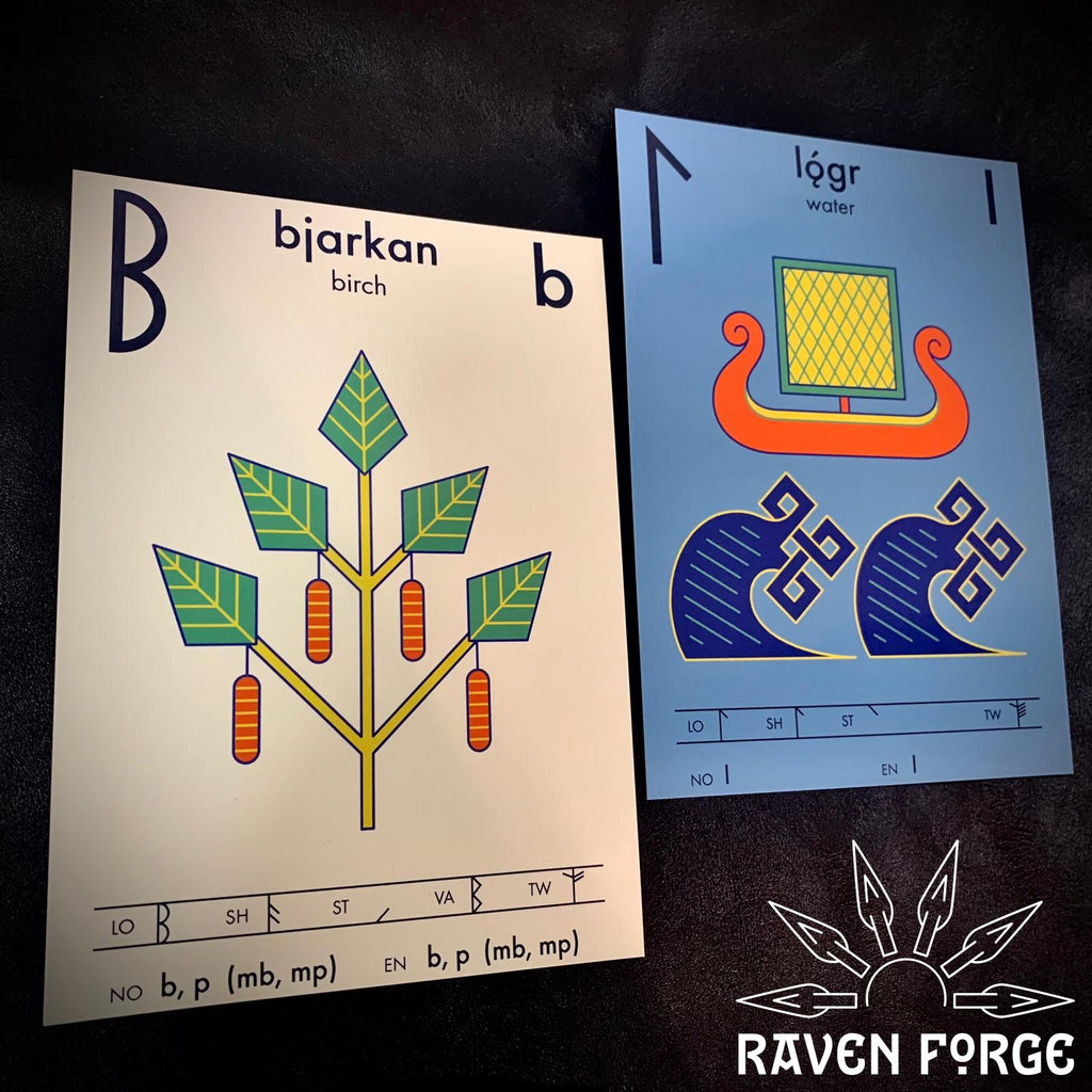 Younger Futhark Flashcards