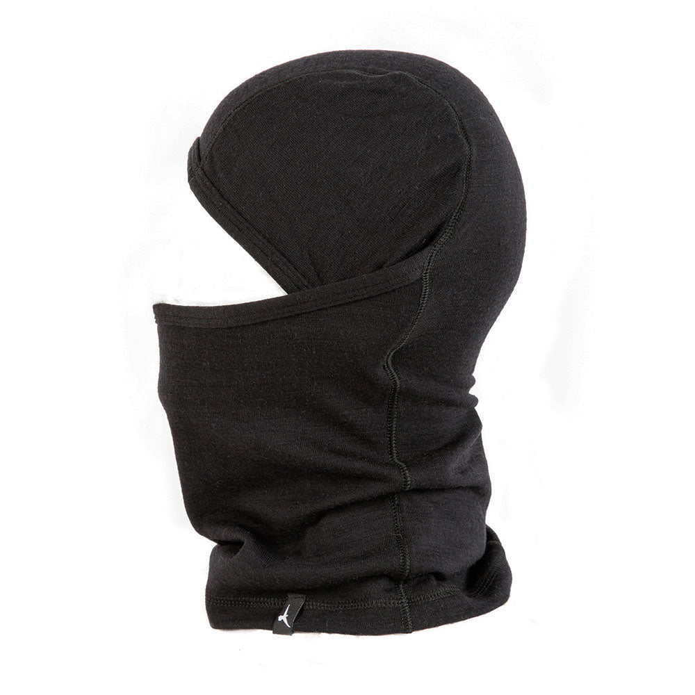 Duckworth Merino Wool - Comet Balaclava - Black