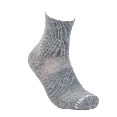 Duckworth Merino Wool - Vapor Athletic Sock - Standard Gray