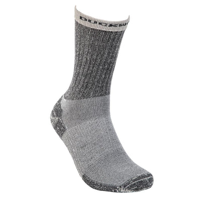 Duckworth Merino Wool - Midweight Hiking Crew Sock - Charcoal