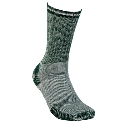 Duckworth Merino Wool - Midweight Hiking Crew Sock - Spruce