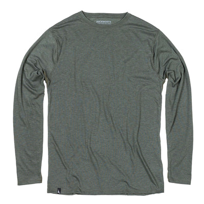 Duckworth Merino Wool - Men's Vapor LS Crew - Spruce