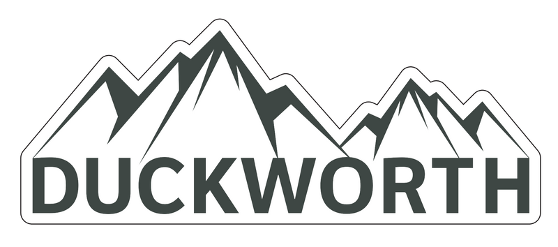 Duckworth Mountain Logo Decal