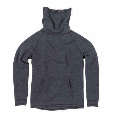 Duckworth Merino Wool - Women's Powder High Neck - Charcoal