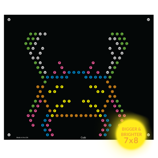 Lite Brite Ultimate Classic Refill Sheets - Sea Animals Refills 7x8  (10 Pack)