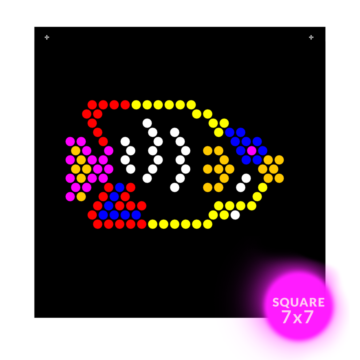 Square Lite Brite Design Refills: Under The Sea