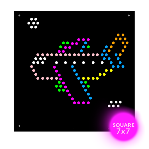 Square Lite Brite Design Refills: Things That Go