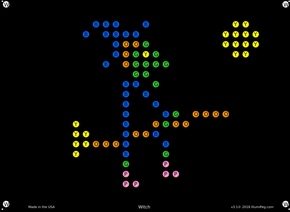 Little Miss, Lite Brite Refills, Set of 12