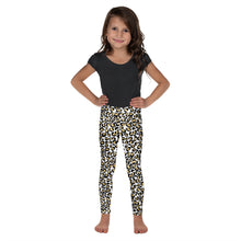 Load image into Gallery viewer, Gold Leopard Kid's Leggings