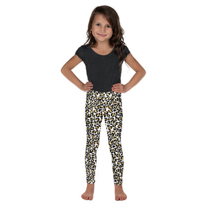 Gold Leopard Kid's Leggings