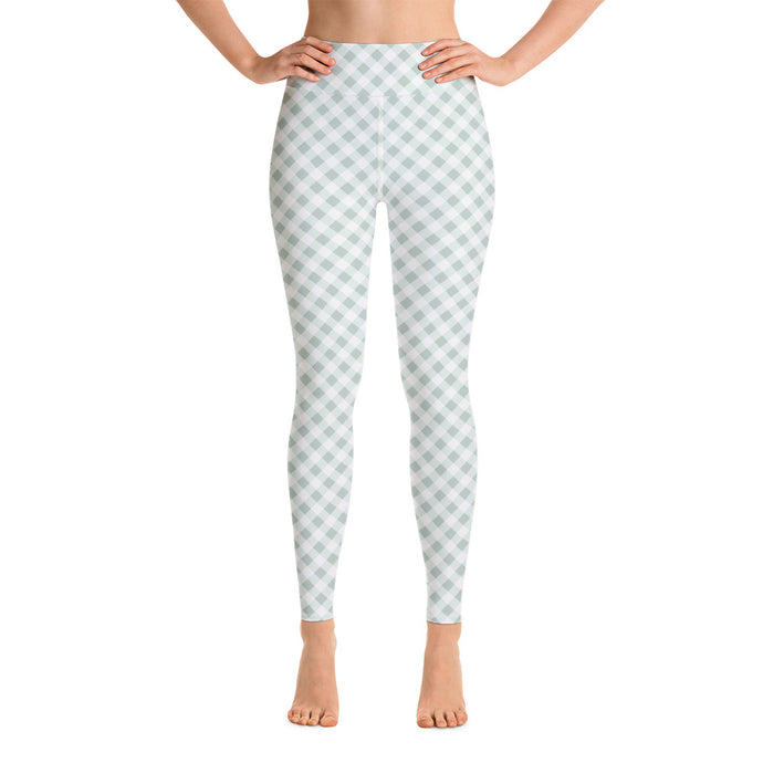Gingham Green Women's Leggings