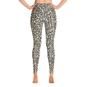 Gold Leopard Women's Leggings