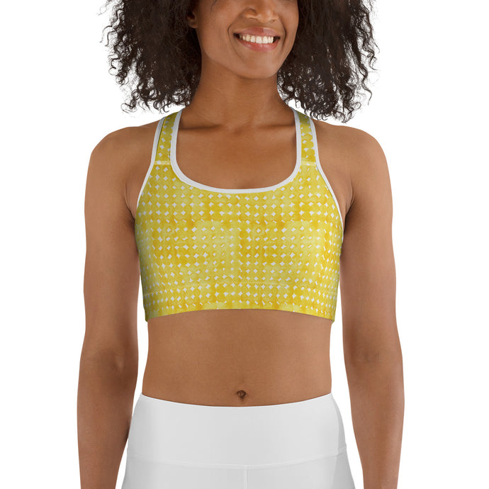 Sunshine Day Women's Sports Bra