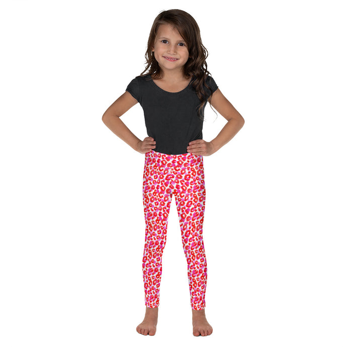 Pink Cheetah Kid's Leggings