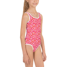 Load image into Gallery viewer, Pink Cheetah Kid's Swimsuit