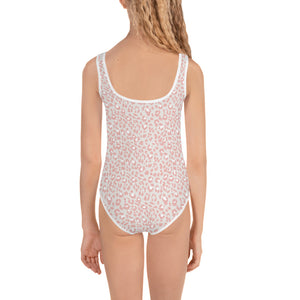 Pastel Cheetah Kid's Swimsuit