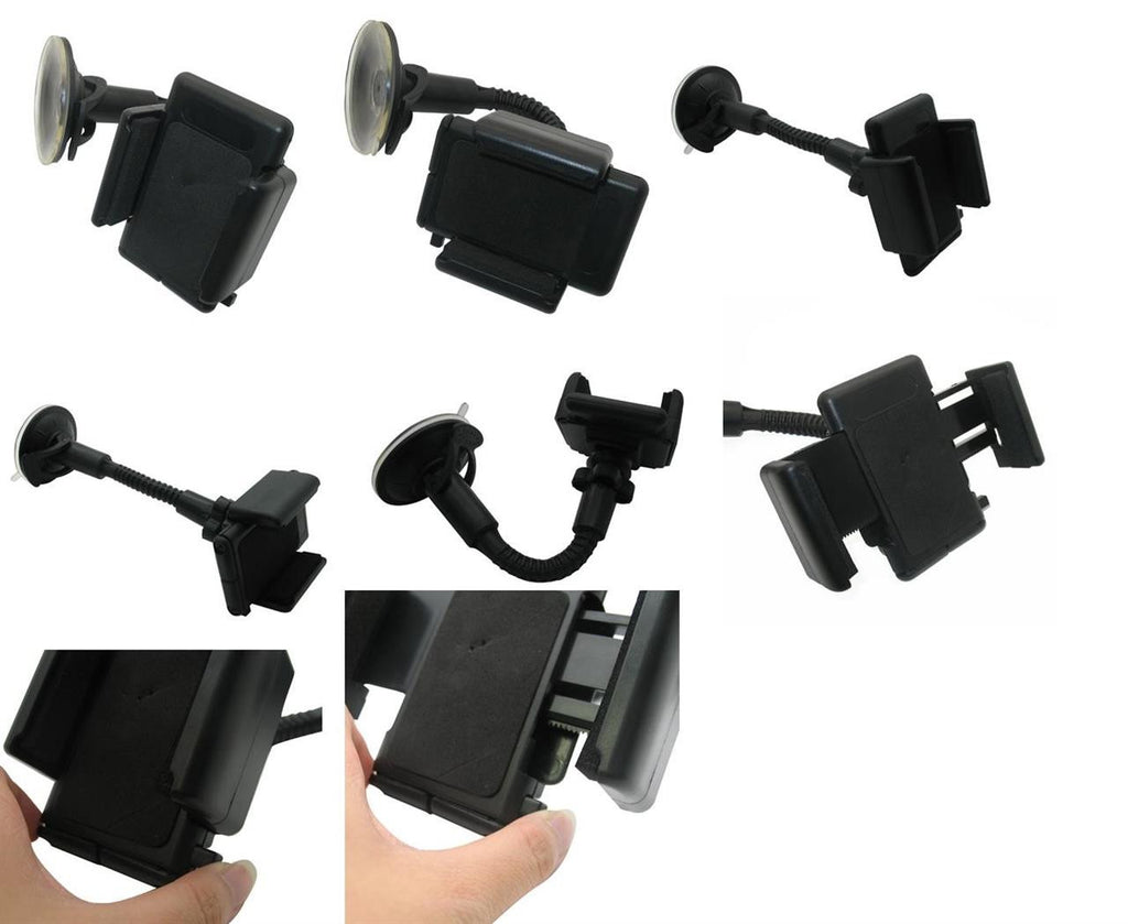 HTC One SV Rubber Case Car Kit Holder Charger