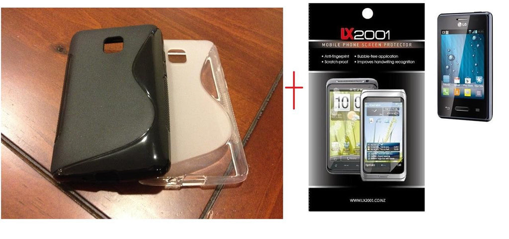 LG Optimus L3 II 2 E430 Case + Screen Protector