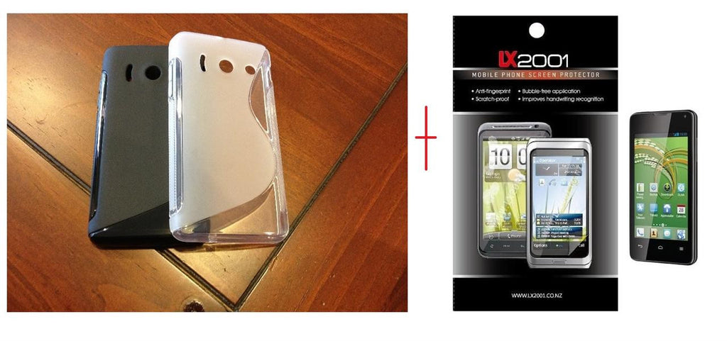 Telecom Y300 Gel Case + Screen Protector