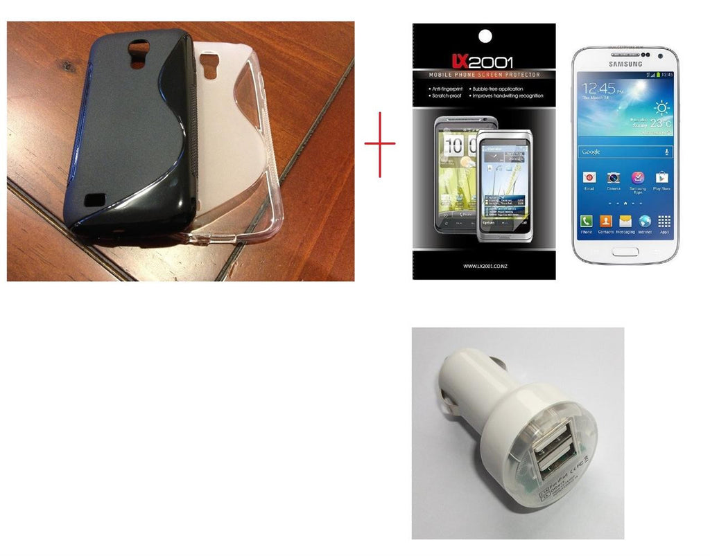 Samsung Galaxy S4 Mini Case DUAL Charger