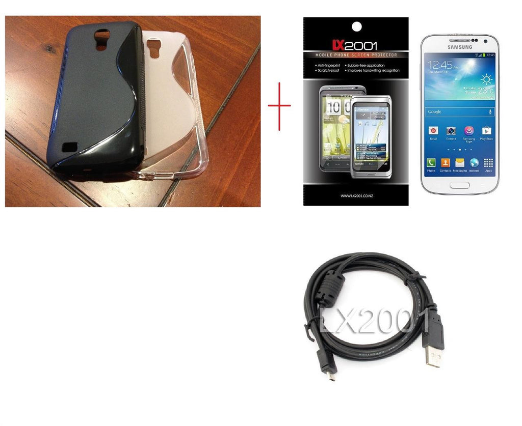 Samsung Galaxy S4 Mini Case USB PC Cable
