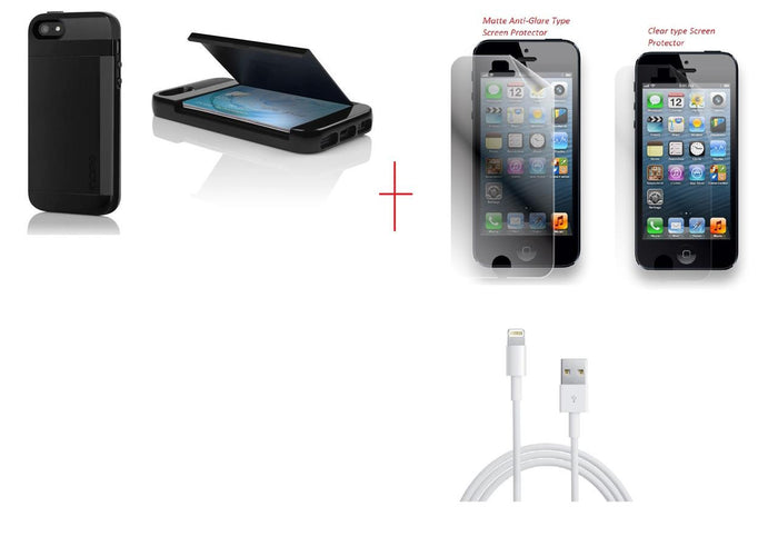 STOWAWAY Case iPhone 5 + Lightning Cable
