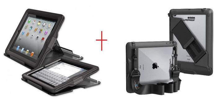 LifeProof Case & Cover for iPad + Shoulder Strap
