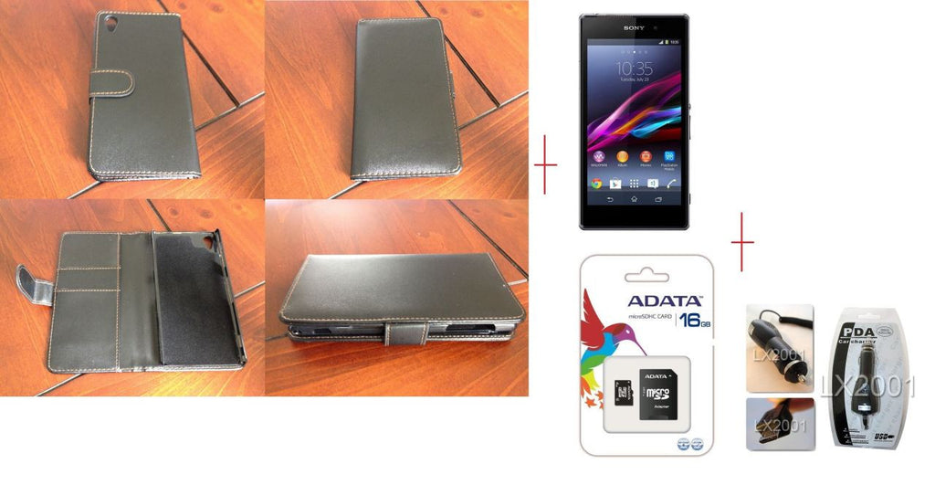 Sony Xperia Z1 Leather 16GB MicroSD Card Charger