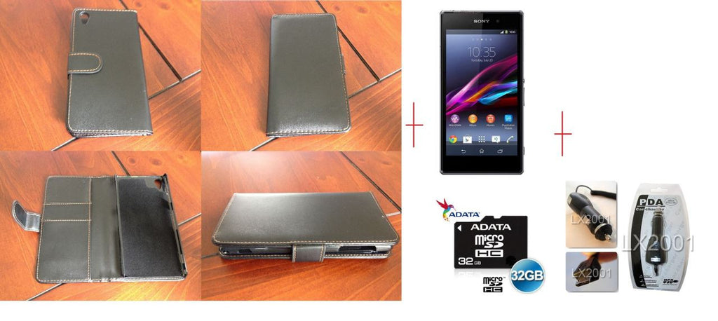 Sony Xperia Z1 Leather 32GB MicroSD Card Charger