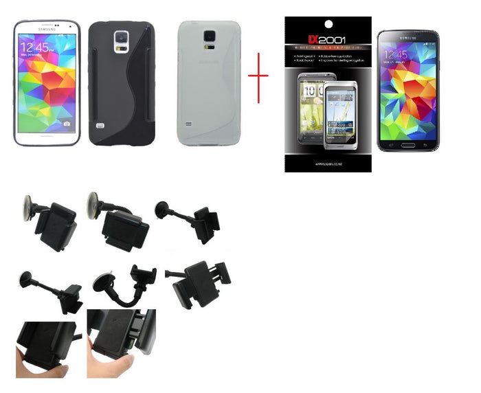 Samsung Galaxy S5 Case Car Kit Holder