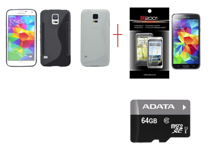 Samsung Galaxy S5 Case 64GB MicroSD Memory Card SP