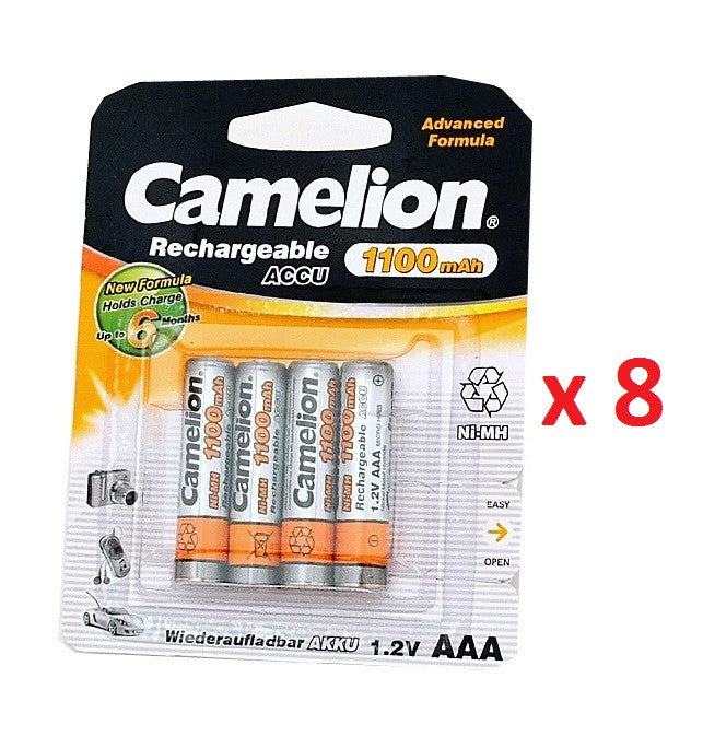 CAMELION AAA 32X 1100mah Rechargeable batteries