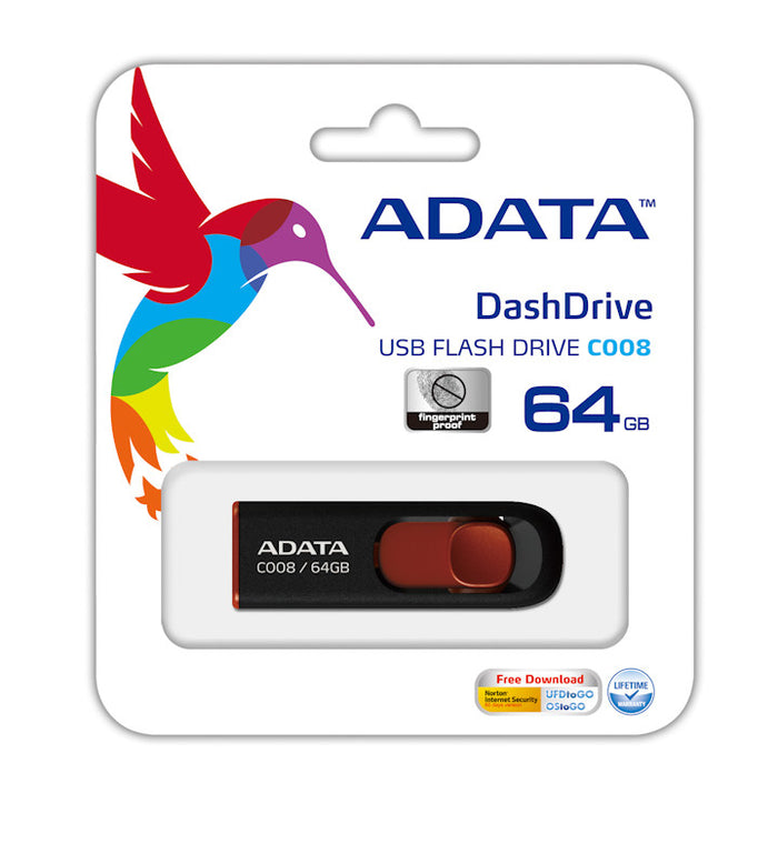 ADATA 64GB USB Flash Stick Pen Drive