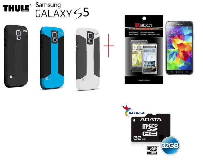 Samsung Galaxy S5 Rugged Case THULE 32GB MicroSD