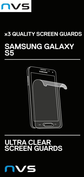 NVS Samsung Galaxy S5 Screen Protector