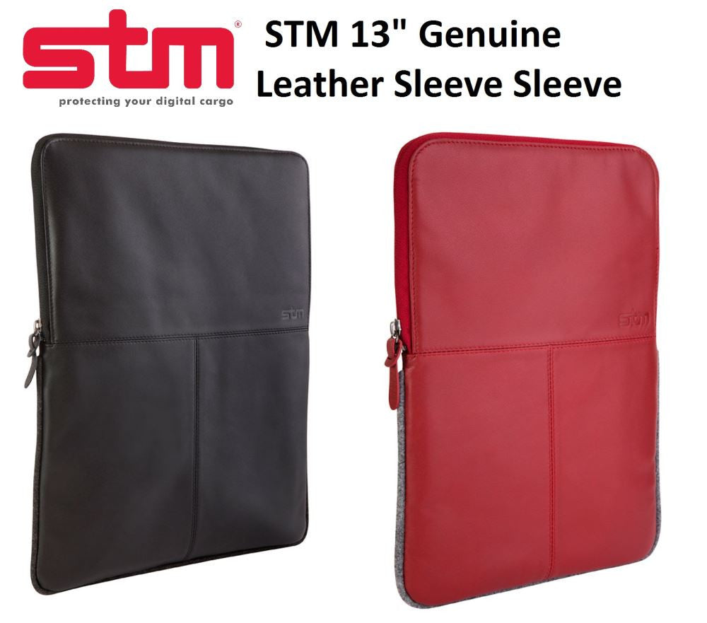 STM LEATHER Sleeve Case for Macbook Pro Air 13""