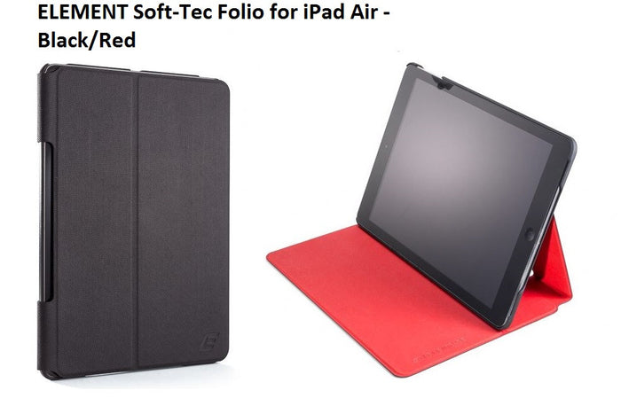 Element Soft-Tec iPad Air Tech Grip Black APIP-2013-KR00