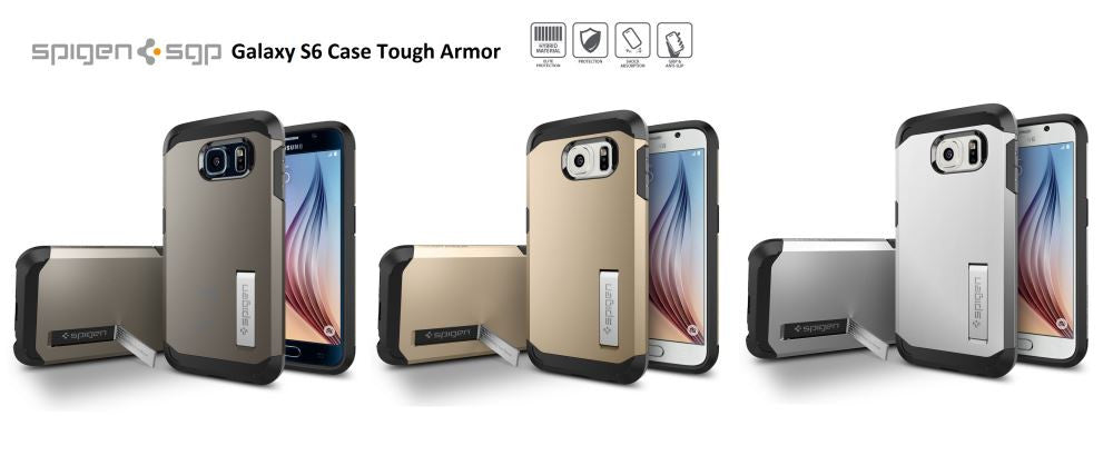 Spigen Samsung Galaxy S6 Tough Armor Case