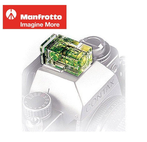 Manfrotto 337 Flash Hot Shoe Double Bubble Level 337
